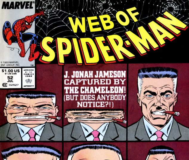 Web of Spider-Man (1985) #52