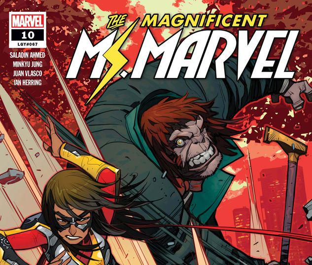 Magnificent Ms. Marvel #10