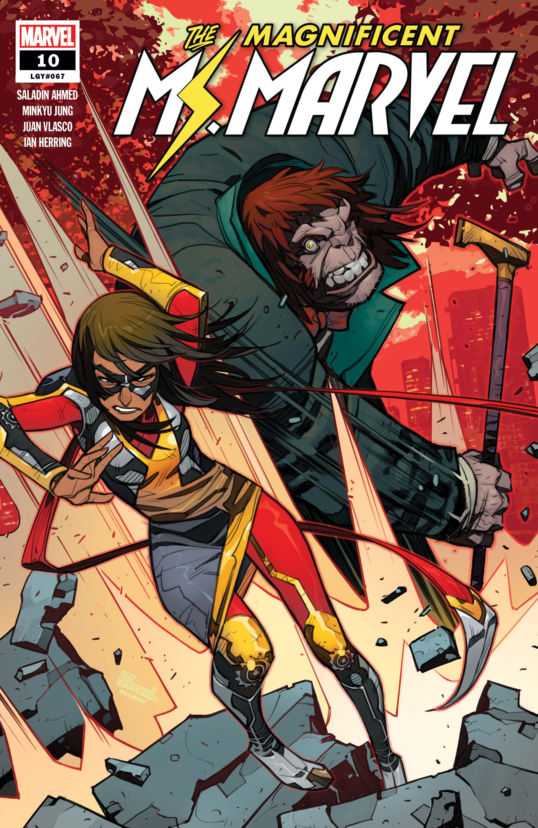 Magnificent Ms. Marvel (2019) #10