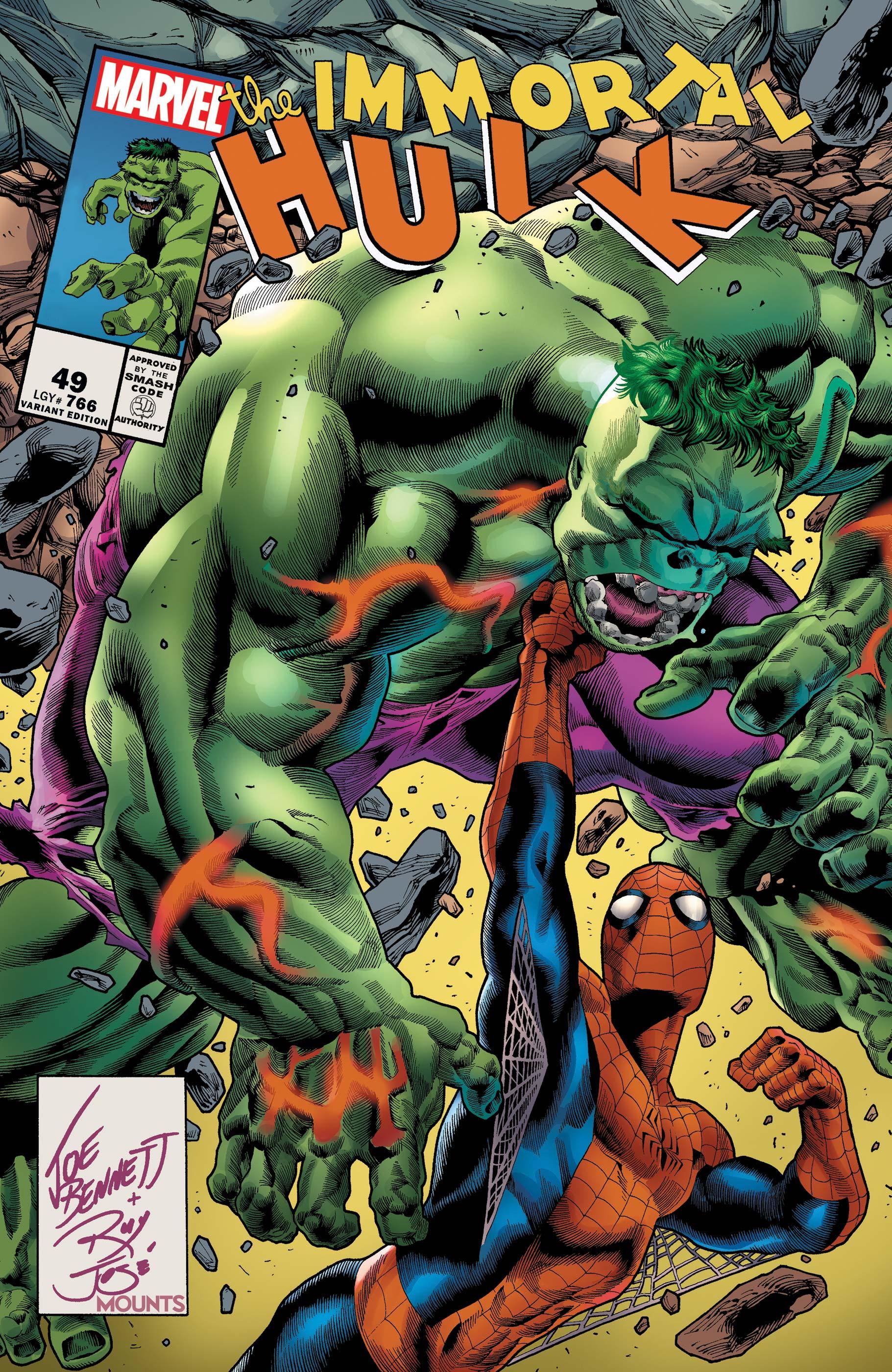 Immortal Hulk (2018) #49 (Variant)