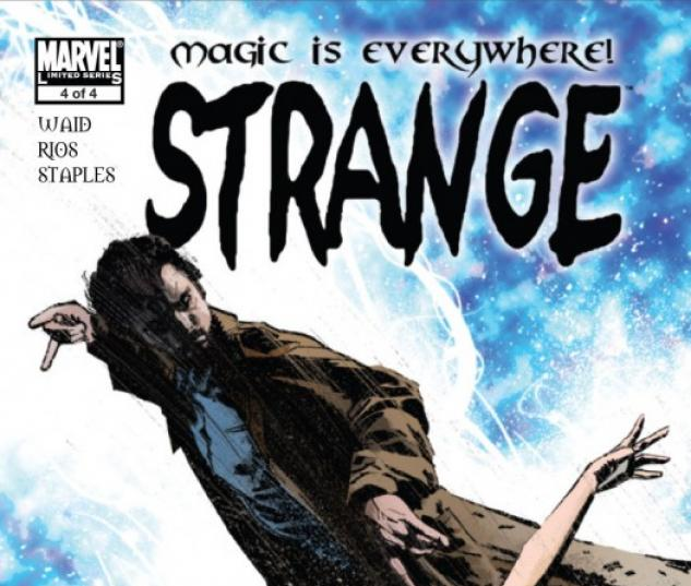 STRANGE #4 Cover by Tomm Coker