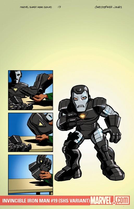 Invincible Iron Man (2008) #19 (SHS VARIANT)