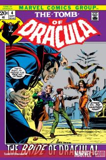 Tomb of Dracula (1972) #4