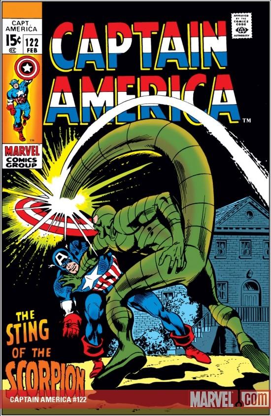 Captain America (1968) #122