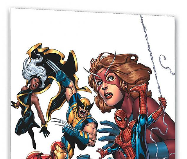 MARVEL ADVENTURES THE AVENGERS VOL. 1: HEROES ASSEMBLED COVER