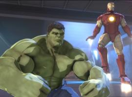 Screenshot from Marvel's Iron Man & Hulk: Heroes United