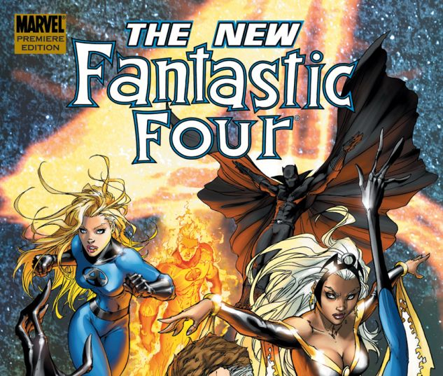 Fantastic Four: The New Fantastic Four (2008) HC