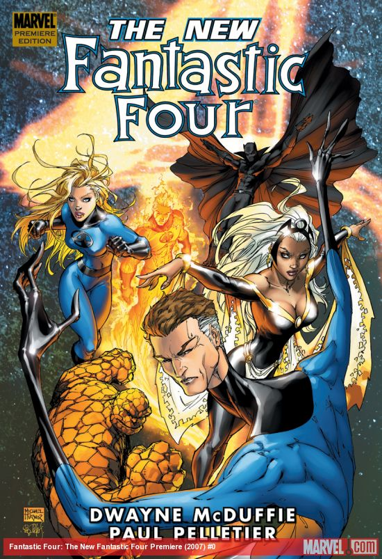 Fantastic Four: The New Fantastic Four Premiere (Hardcover)
