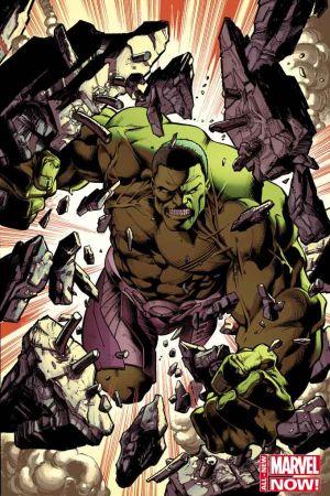Hulk (2014) #1 variant cover by Mark Bagley