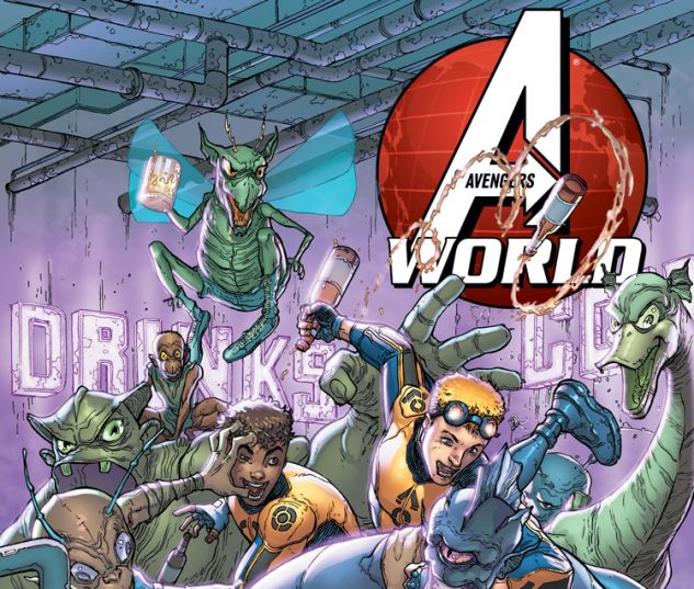 AVENGERS WORLD 9 (ANMN, WITH DIGITAL CODE)