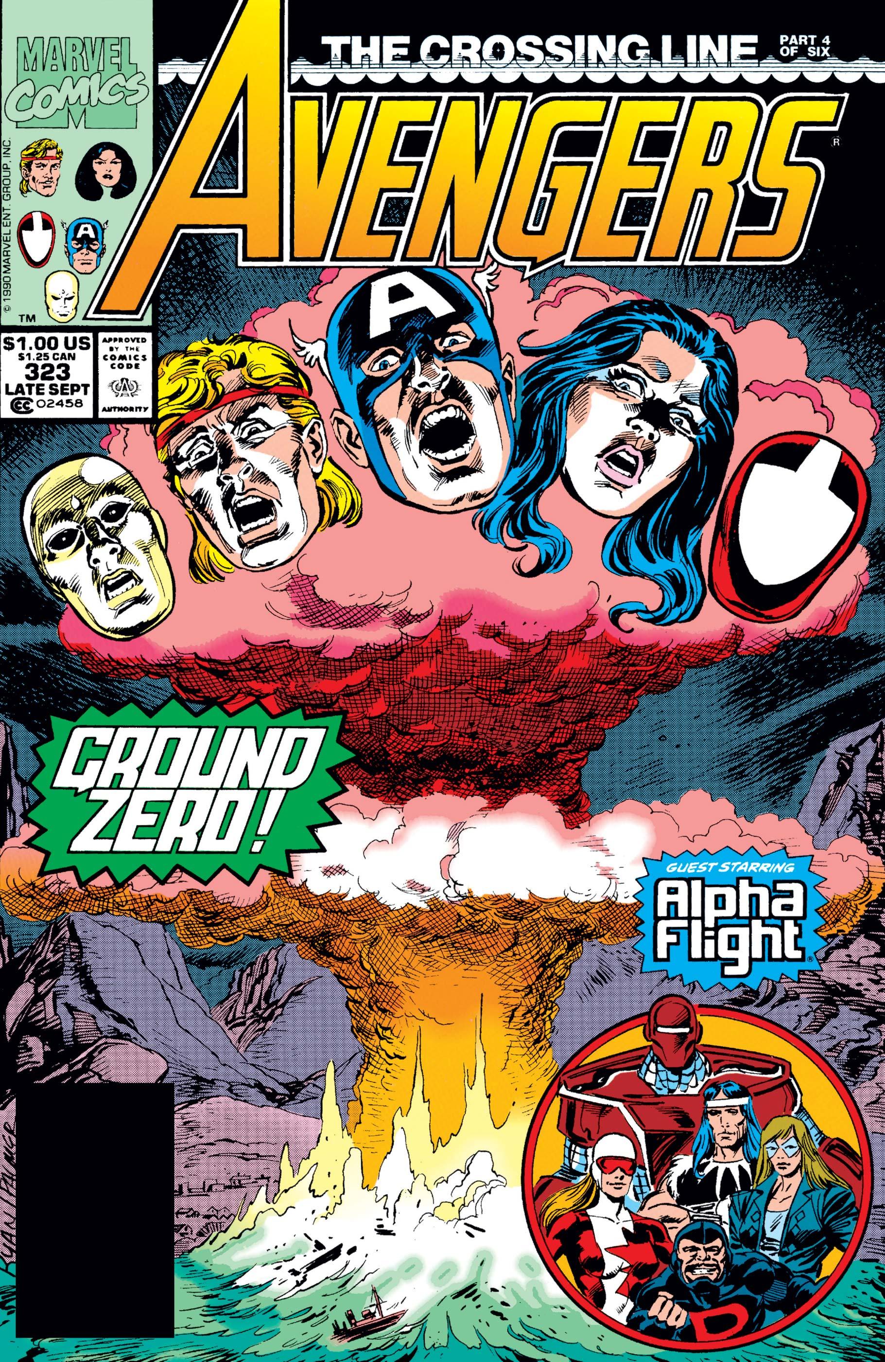 Avengers (1963) #323