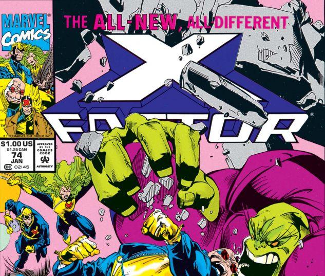 X-Factor (1986) #74