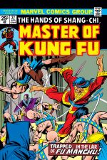 Master of Kung Fu (1974) #27 cover