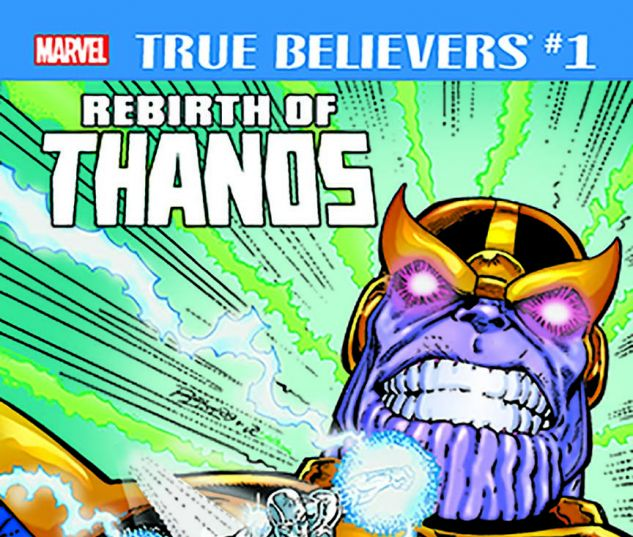 cover from True Believers: Rebirth of Thanos (2018) #1