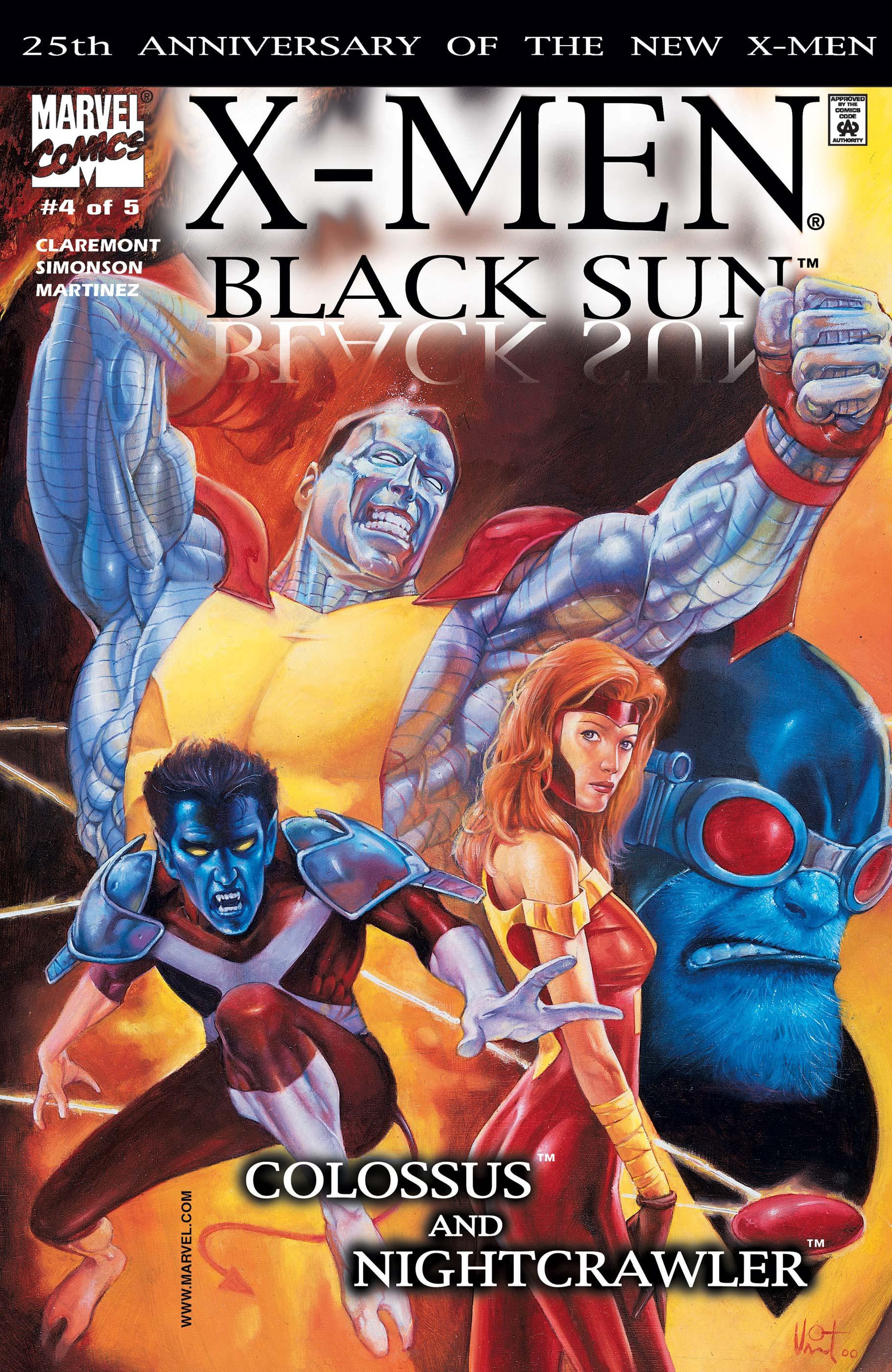 X-Men: Black Sun (2000) #4