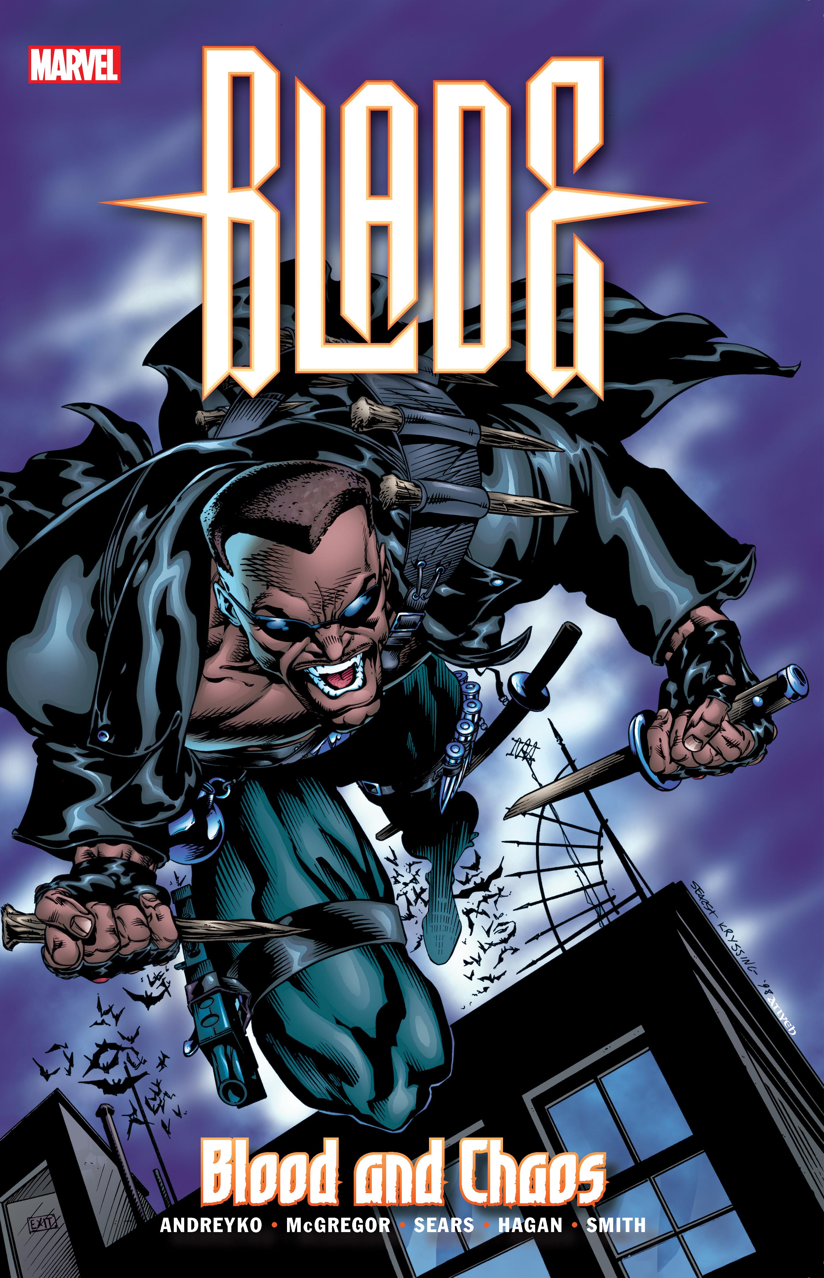 Blade: Blood and Chaos (Trade Paperback)