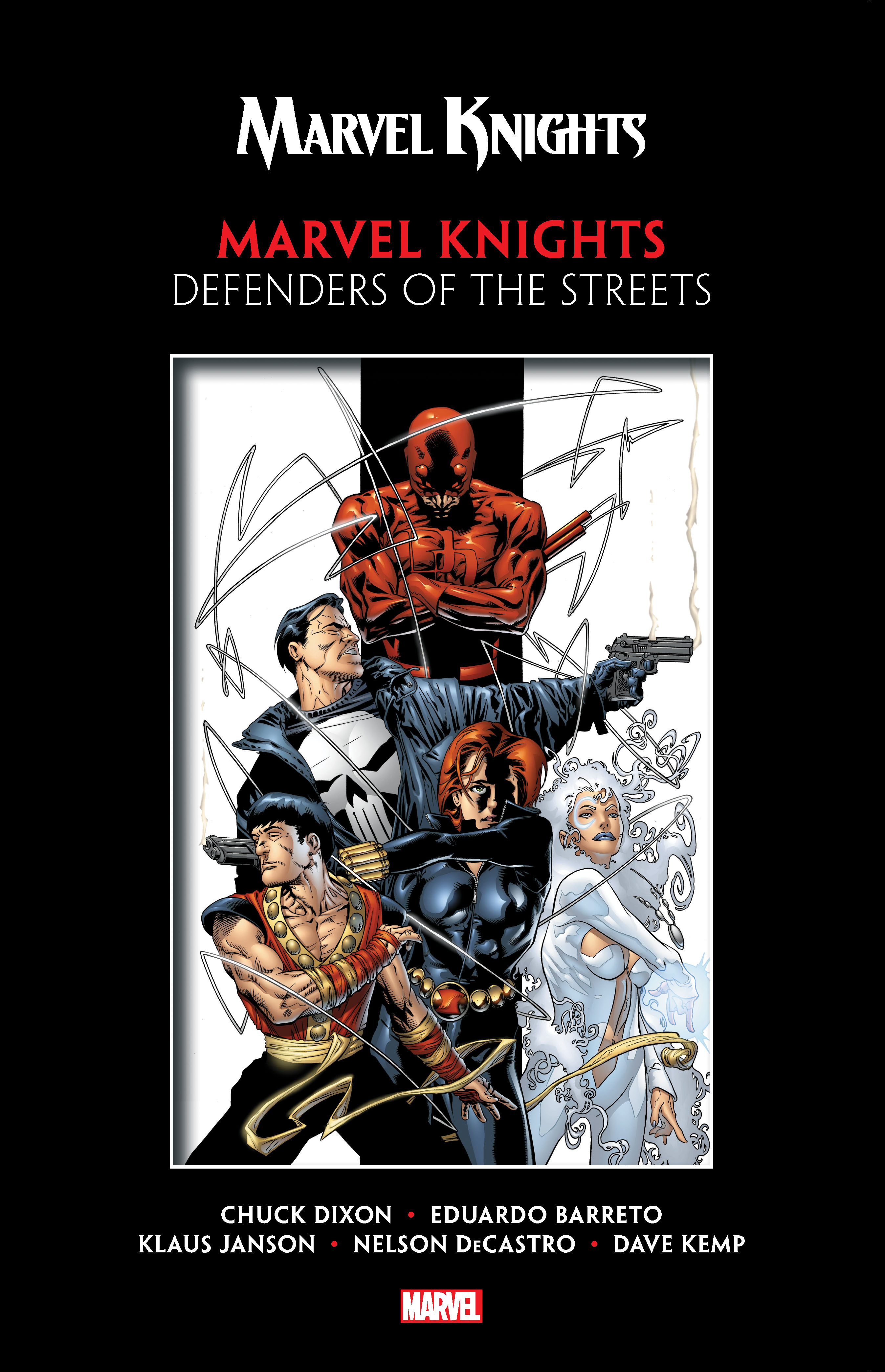 Marvel Knights by Dixon & Barreto: Defenders of the Streets (Trade Paperback)