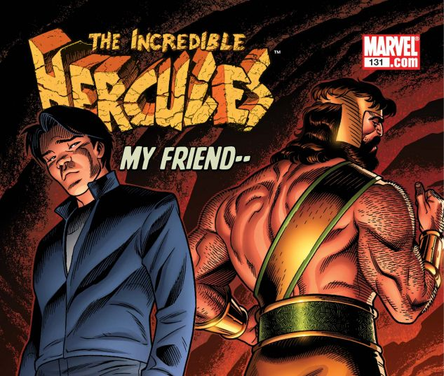 INCREDIBLE HERCULES (2008) #131