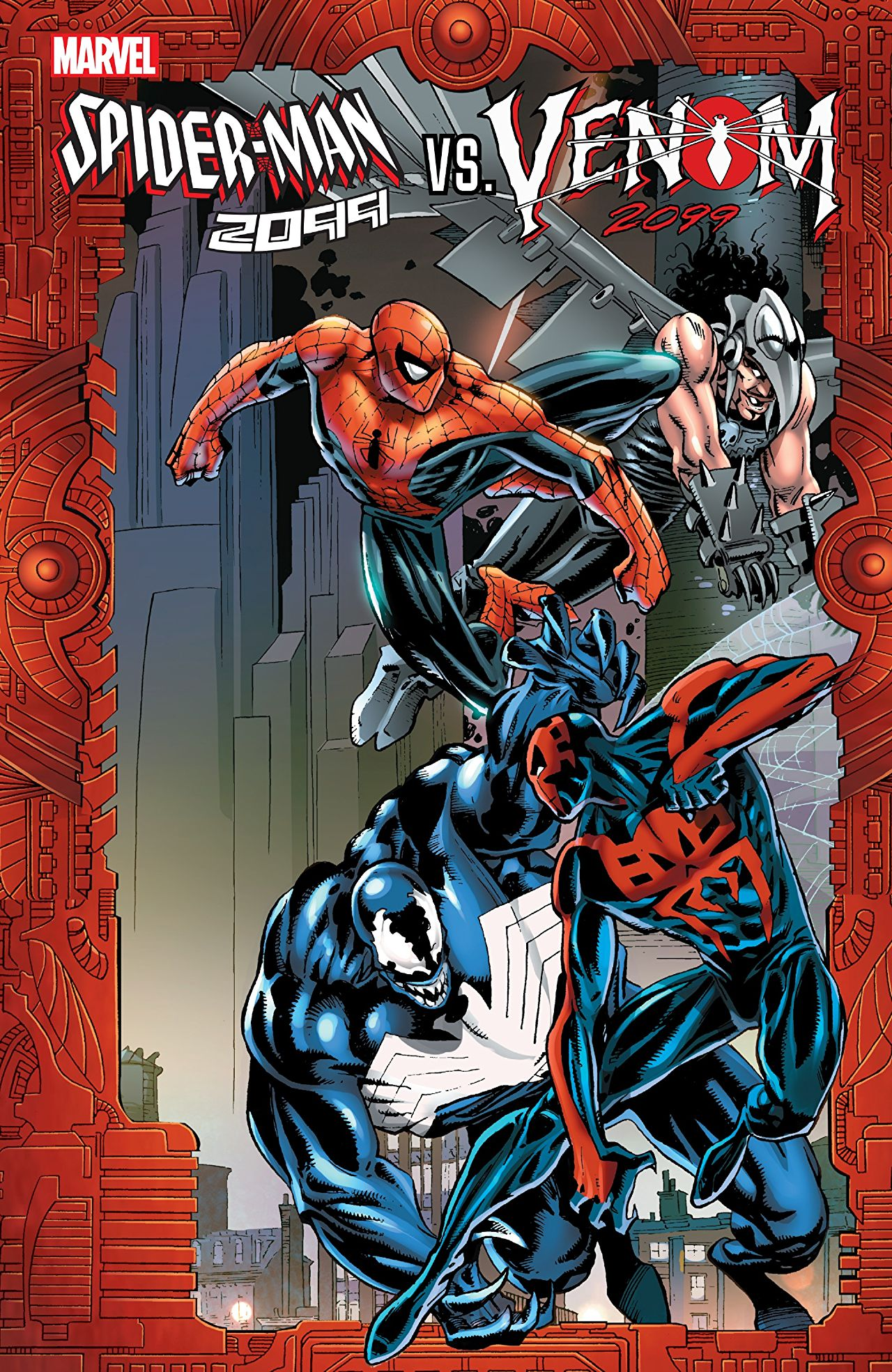 Spider-Man 2099 Vs. Venom 2099 (Trade Paperback)