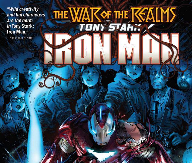 TONY STARK: IRON MAN VOL. 3 - WAR OF THE REALMS TPB #3