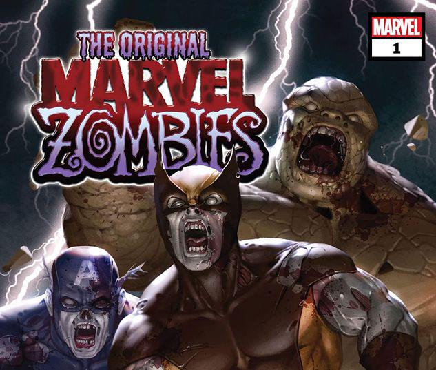 THE ORIGINAL MARVEL ZOMBIES: MARVEL TALES 1 #1