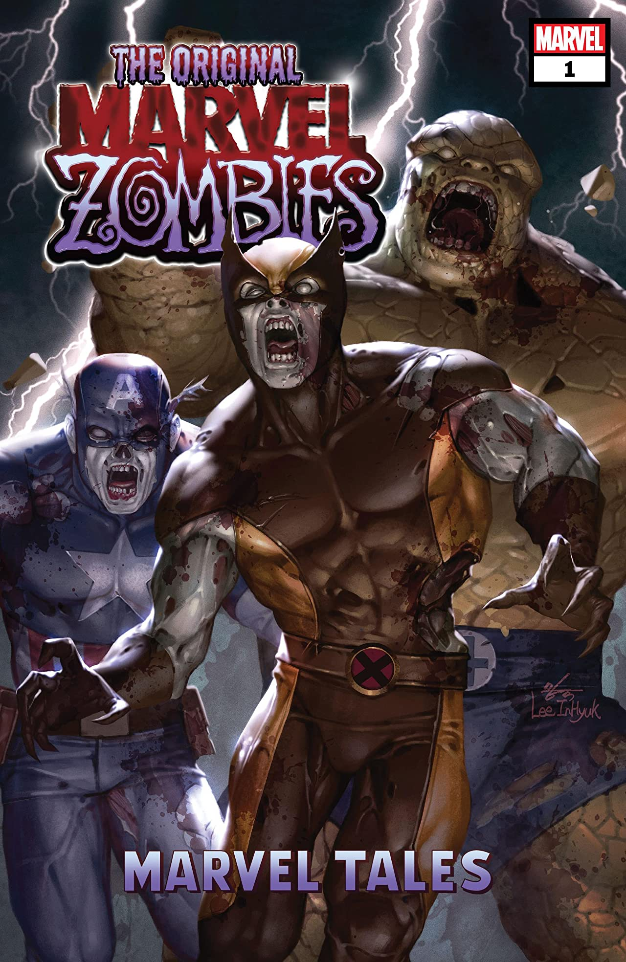 The Original Marvel Zombies: Marvel Tales (2020) #1