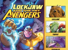 LOCKJAW AND THE PET AVENGERS #1 (2ND PRINTING VARIANT)