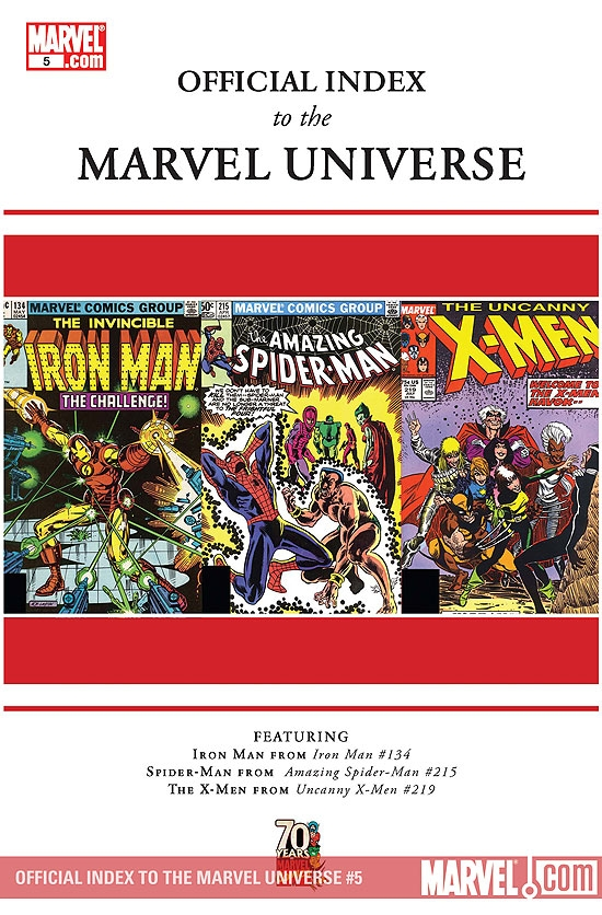 Official Index to the Marvel Universe (2009) #5
