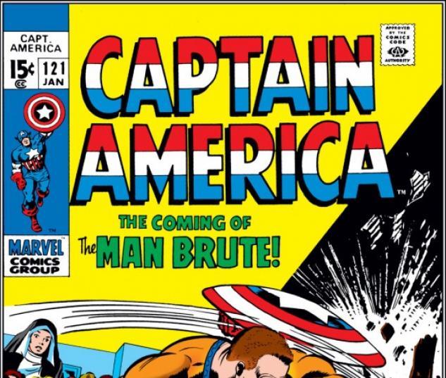 CAPTAIN AMERICA #121 COVER