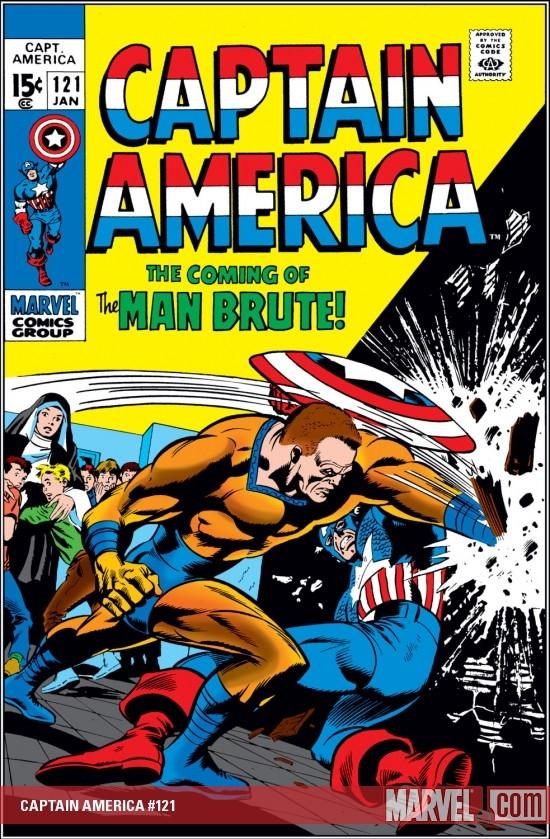 Captain America (1968) #121
