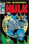 INCREDIBLE HULK #344 COVER