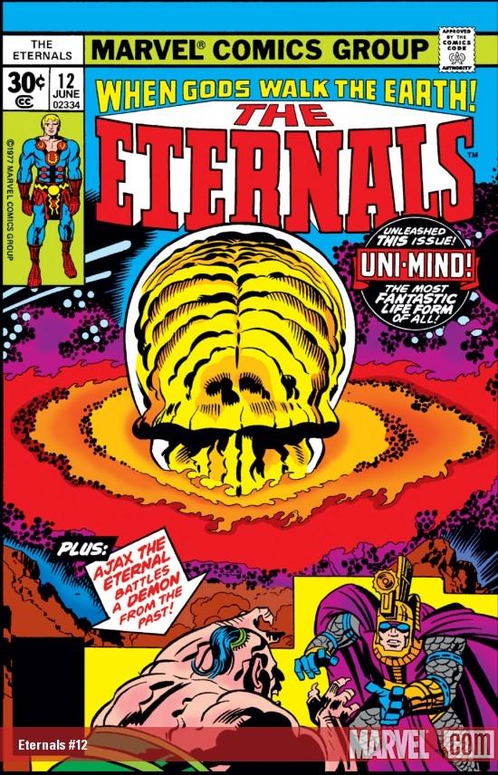Eternals (1976) #12