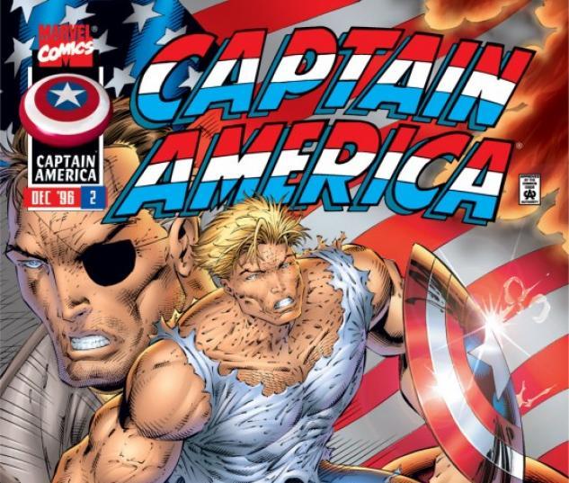CAPTAIN AMERICA #2 COVER