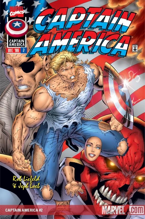 Captain America (1996) #2