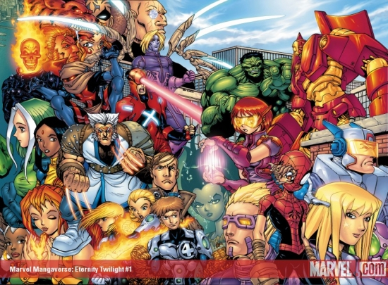 MARVEL MANGAVERSE: ETERNITY TWILIGHT 1 (2002) #1