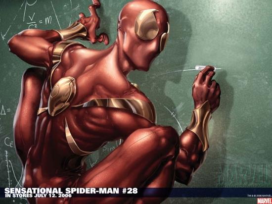 Sensational Spider-Man (2006) #28 Wallpaper