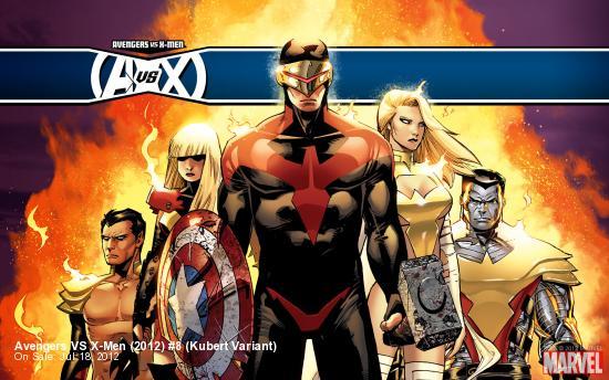 Avengers VS X-Men (2012) #8 (Kubert Variant)