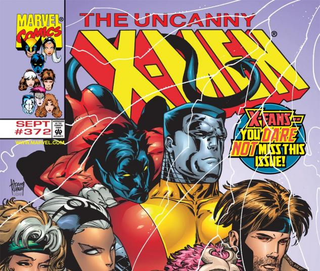 Uncanny X-Men (1963) #372 Cover