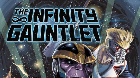 Infinity Gauntlet (2015) #1 cover by Dustin Weaver