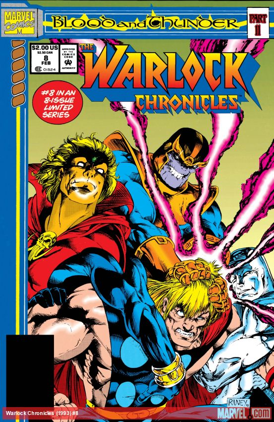 Warlock Chronicles (1993) #8