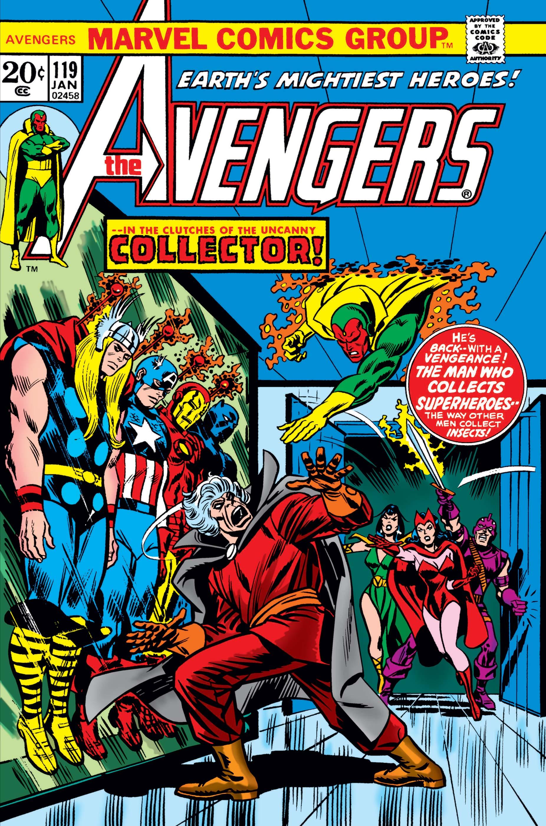 Avengers (1963) #119