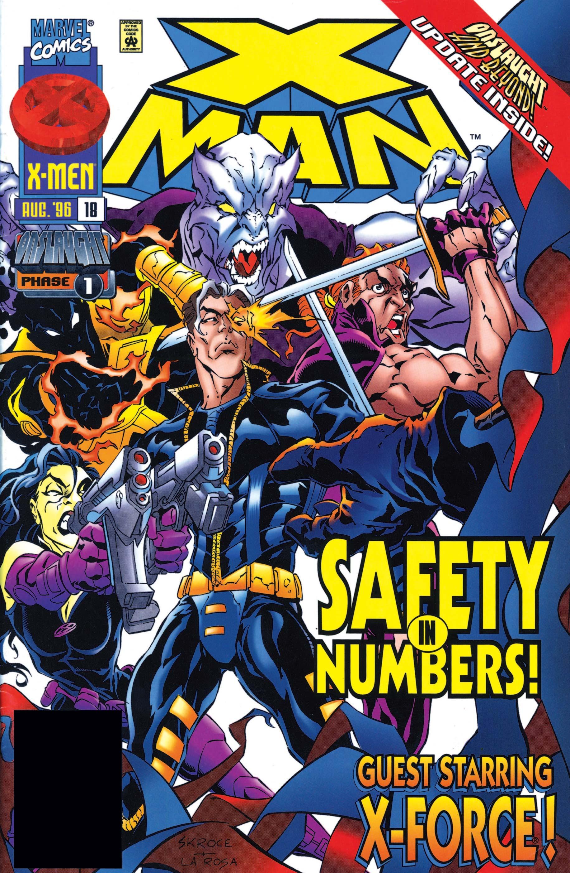 X-Man (1995) #18