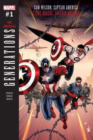 GENERATIONS: SAM WILSON CAPTAIN AMERICA & STEVE ROGERS CAPTAIN AMERICA 1 #1