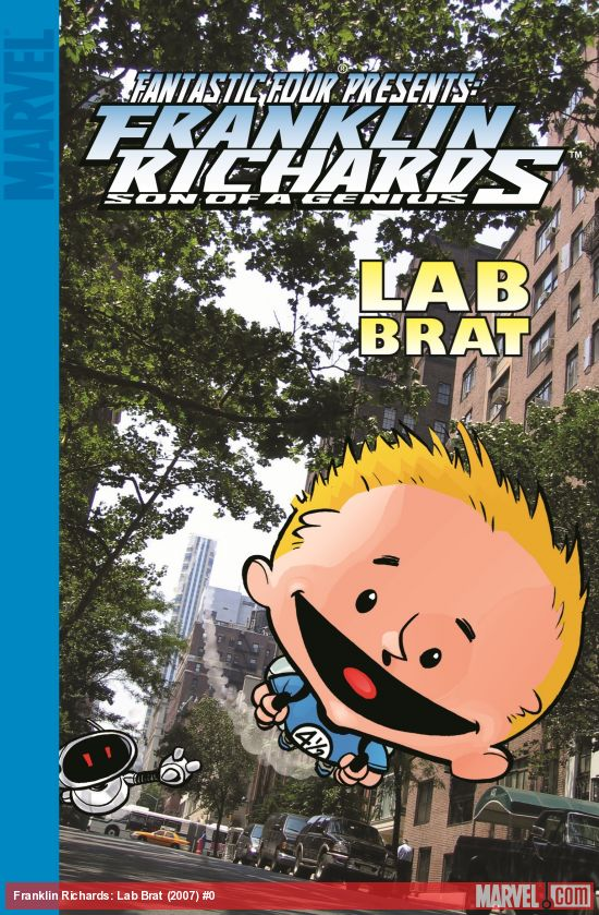Franklin Richards: Lab Brat (Digest)