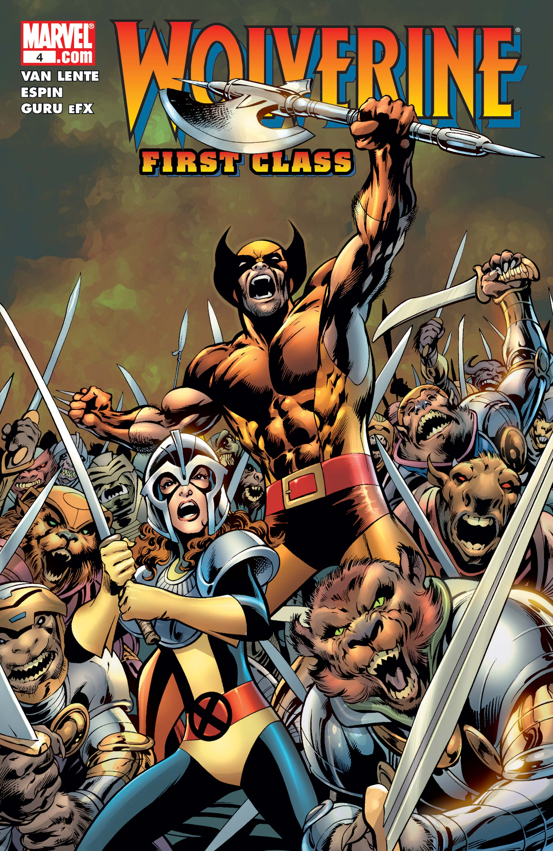 Wolverine: First Class (2008) #4