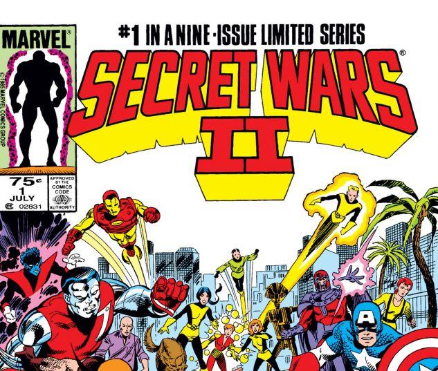 SECRET WARS II (1985) #1