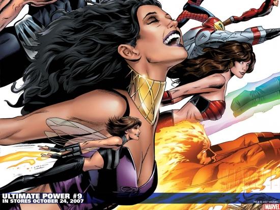 Ultimate Power (2006) #9 Wallpaper