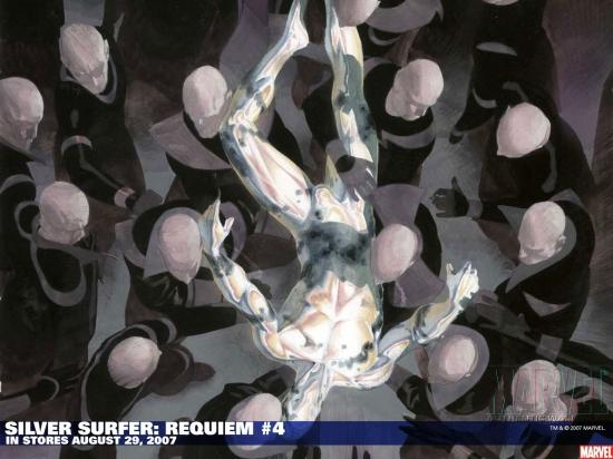 Silver Surfer: Requiem (2007) #4 Wallpaper