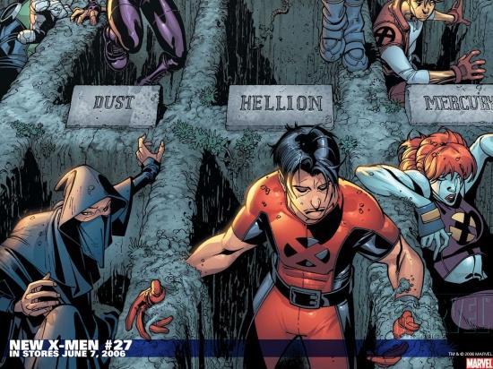 New X-Men (2004) #27 Wallpaper