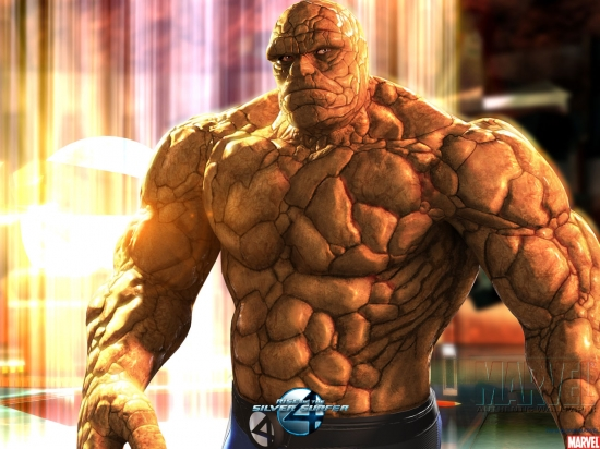 Fantastic Four: Rise of the Silver Surfer: The Thing